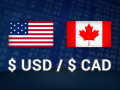 الدولار كندى ونقطة فيصلية قوية