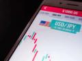 سعر الدولار ين وملامسة حد الترند الصاعد
